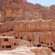 Stock Photo: Cave home in Petra