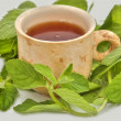 Royalty-Free Stock Photo: Cup of tea useful to health