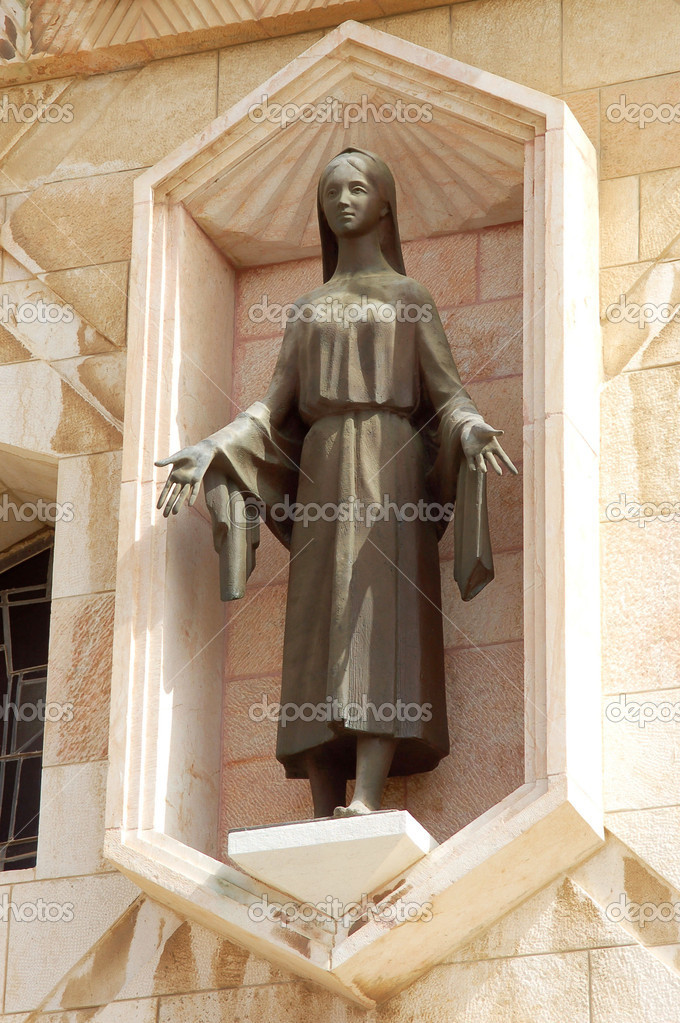 The statue of Virgin Mary  — Stock Photo #1062936