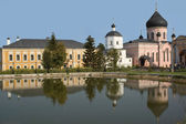 Monastery in Russia near Moscow — Stock Photo
