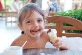 Tasty ace-cream — Stock Photo