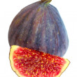 Royalty-Free Stock Photo: Fig isolated on white background