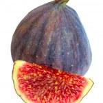 Fig isolated on white background — Stock Photo #1040426