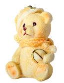 Toy Christmas bear — Stock Photo
