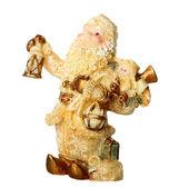 Toy Christmas Santa Claus — Stock Photo