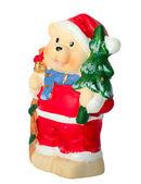 Christmas toy bear — Stock Photo