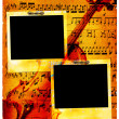Royalty-Free Stock Photo: Vintage musical pages