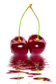 Close-up of sweet cherry — Stock Photo