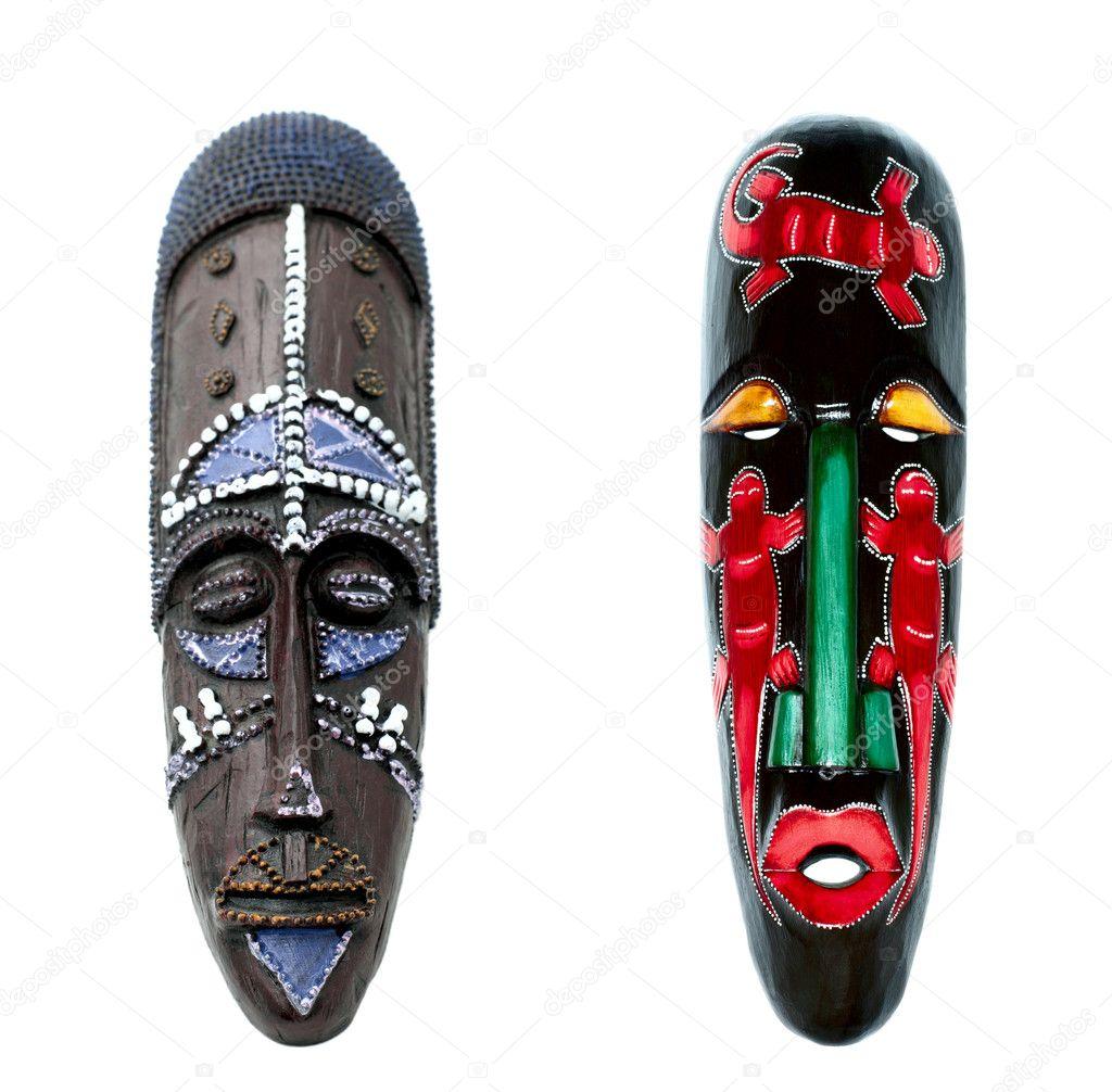 Африканские маски своими руками фото
