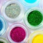 Make-up eyeshadows — Stock Photo
