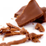 Broken milk chocolate — Stock Photo