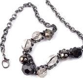 Necklace closeup — Stock Photo