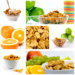 Healthy breakfast collection — Stock Photo