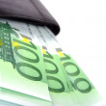 Euro and purse — Stock Photo #1072496