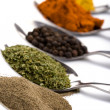 Royalty-Free Stock Photo: Various ground spices