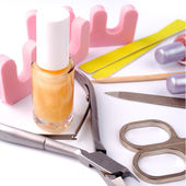 Pedicure schoonheid set — Stockfoto