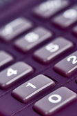 Calculator keypad — Stock Photo