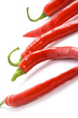 Red chilly peppers — Stock Photo