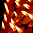 Flaming candles — Stock Photo #1782262