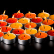 Flaming candles — Stock Photo #1970954