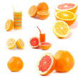 Stock Photo: Citrus collection