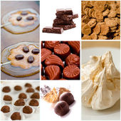 Coocies and sweets collection — Foto de Stock