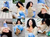 Brunet woman — Stock Photo