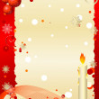Royalty-Free Stock Vector Image: Postcard christmas