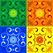 Colorful tiles — Stock Vector