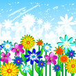 Royalty-Free Stock Vector Image: Flower Glade