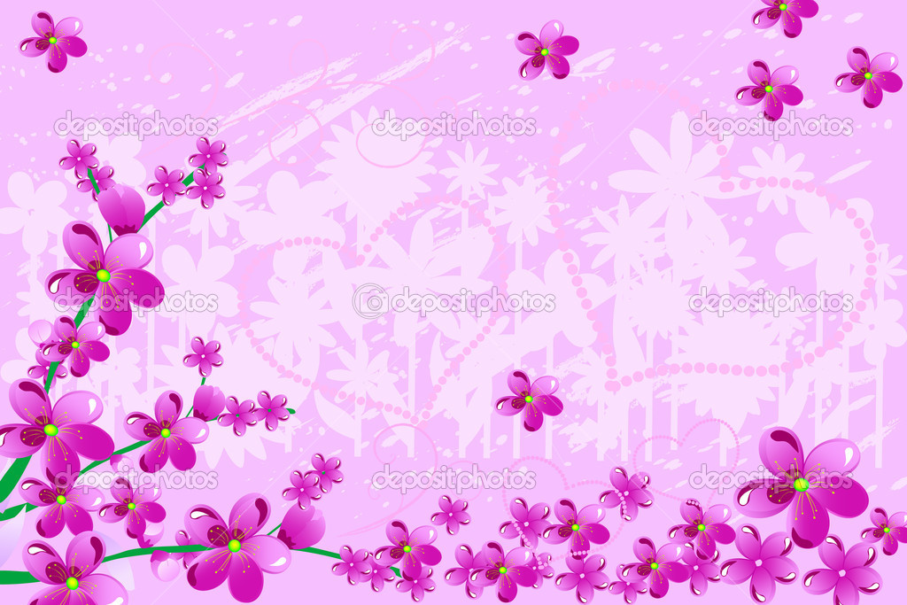 Cherry Love — Image vectorielle #1094633