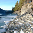 Winter in the Altai - Stock Photo