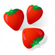 Strawberry — Vector de stock #1120550