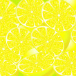 Juicy lemons - Stock Vector