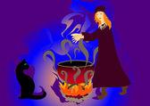 волшебное зелье — Cтоковый вектор