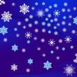 Snowflakes different - Imagens vectoriais em stock