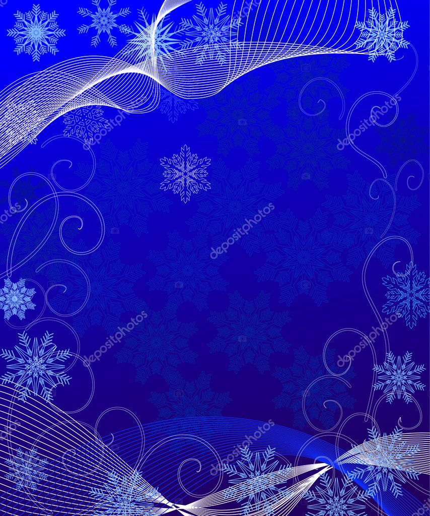 Breath of winter — Stock Vector #1166449