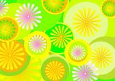 Flower optimism — Stock Vector