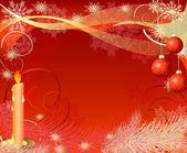Christmas candles2 — Stock Vector