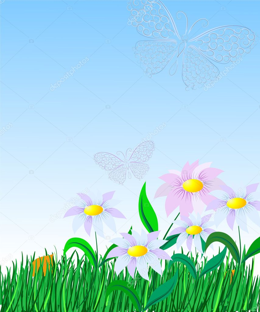 Easy Lawn — Stock Vector #1297043