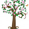 Royalty-Free Stock Vector Image: Leafy tree2