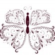 Lace butterfly5 — Stock Vector #1354549