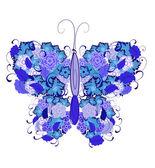 Butterfly Flower — Stock Vector