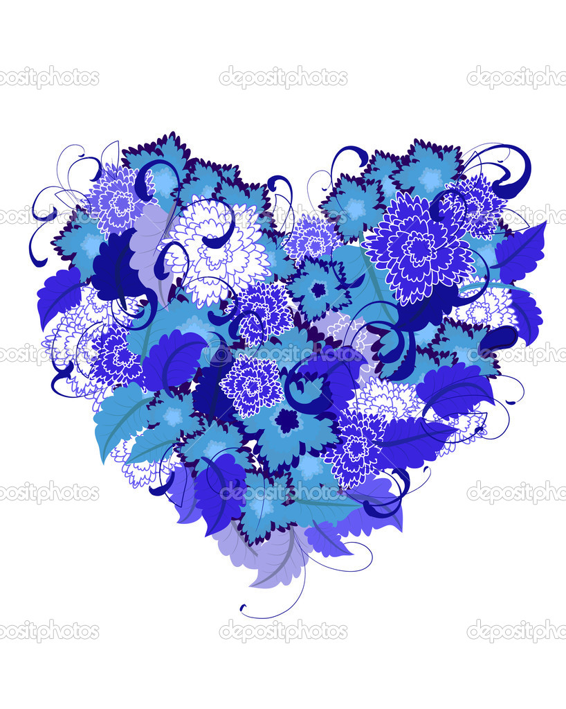 Cold heart  Stock Vector #1408977