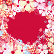 Abstract valentine5 — Stock Vector