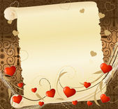 Romantic letter2 — Stock Vector