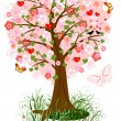 Tree love - Stock Vector