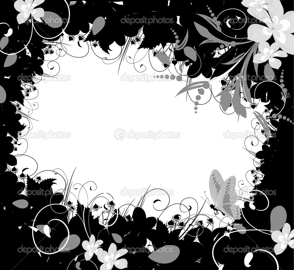 Flower Frame — Stock Vector #1658457