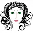 Enchantress - Stock Vector