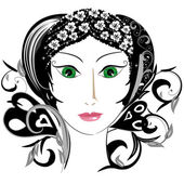 Enchantress — Stock Vector